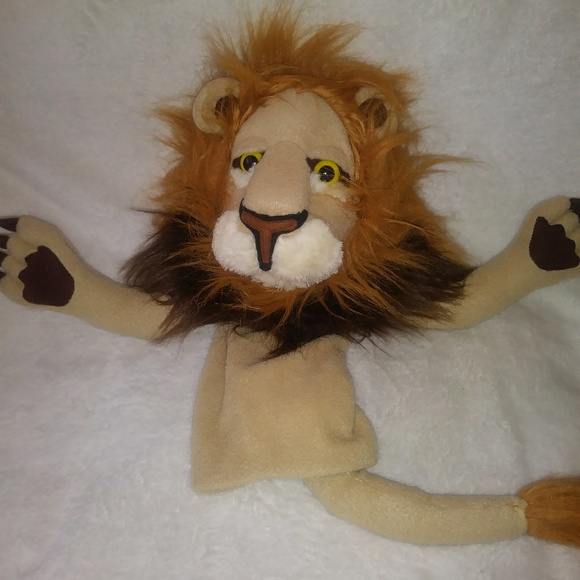 Melissa Doug Rory The Lion Hand Puppet